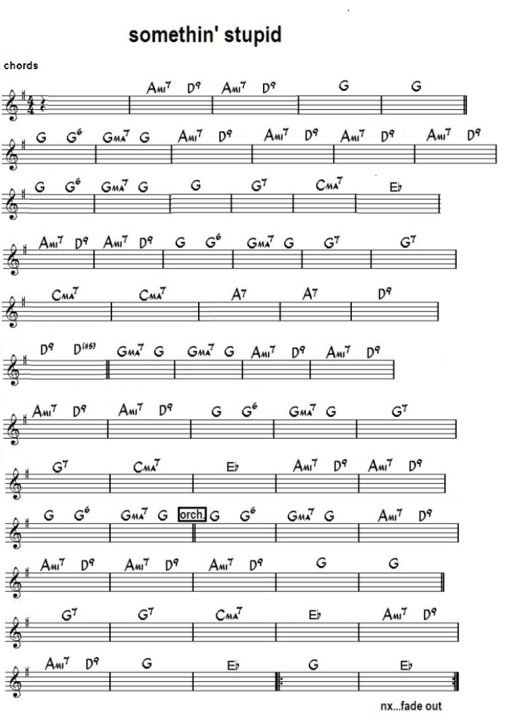 Something About December Chords
