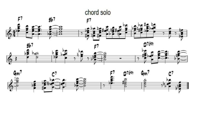 chord solo
